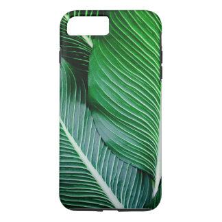 Cas de téléphone de feuille de palmier coque iPhone 7 plus
