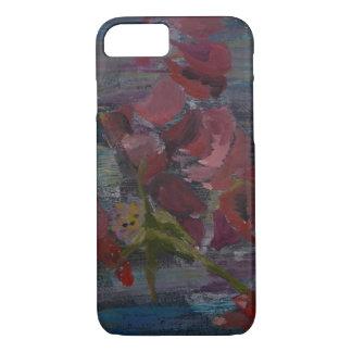 Cas de téléphone de fleur coque iPhone 7