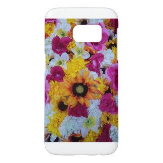 Cas de téléphone de fleurs de ressort coque samsung galaxy s7