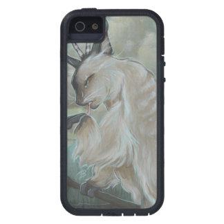 Cas de téléphone de hibou de chat de Meowl iPhone 5 Case