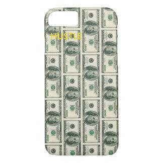 Cas de téléphone de HU$TLE pour l'iPhone 7 Coque iPhone 7
