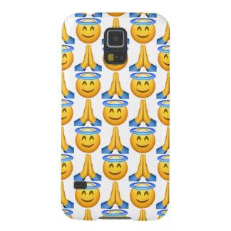 Cas de téléphone de la galaxie S5 d'Emoji Samsung Coques Galaxy S5