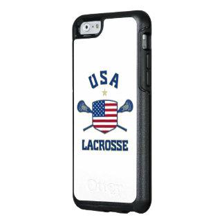 Cas de téléphone de lacrosse des Etats-Unis Coque OtterBox iPhone 6/6s