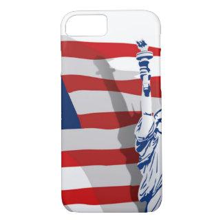 Cas de téléphone de liberté coque iPhone 7