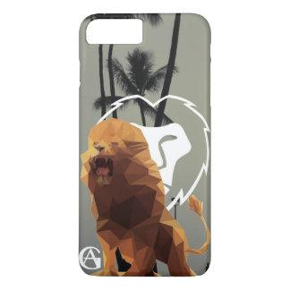Cas de téléphone de lion coque iPhone 8 plus/7 plus