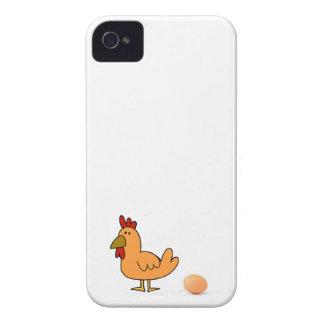 Cas de téléphone de l'iPhone 4/4s de poulet Coque iPhone 4