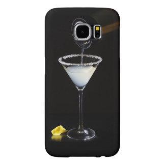 Cas de téléphone de Martini de baisse de citron