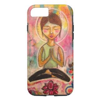 """Cas de téléphone """"de méditation de Jeanette Coque iPhone 7"""
