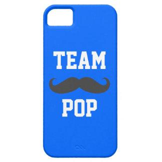 Cas de téléphone de moustache de POP d équipe Coque iPhone 5