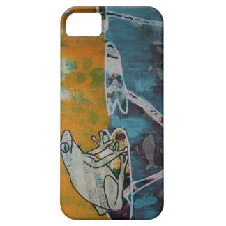 Cas de téléphone de musique de grenouille coque iPhone 5 Case-Mate