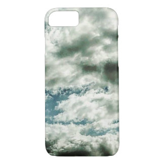 Cas de téléphone de nuage coque iPhone 7