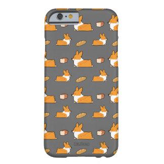 Cas de téléphone de pain de pain de corgi coque iPhone 6 barely there