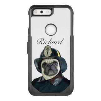 Cas de téléphone de pixel de Google de chien de
