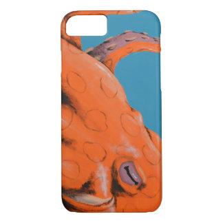 Cas de téléphone de poulpe coque iPhone 7