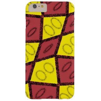 Cas de téléphone de rouge et de jaune coque barely there iPhone 6 plus