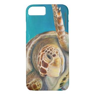 Cas de téléphone de tortue de mer coque iPhone 7
