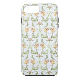 Cas de téléphone de treillis de tulipe coque iPhone 7 plus