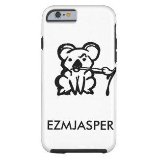 Cas de téléphone d'Ezmjasper Coque iPhone 6 Tough