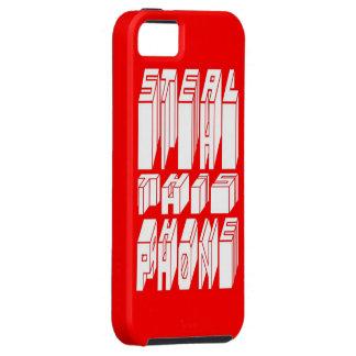 cas de téléphone d'habillement de voleur coque iPhone 5 Case-Mate