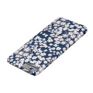 Cas de téléphone d'Iphone 6/6s de marguerite Coque Barely There iPhone 6
