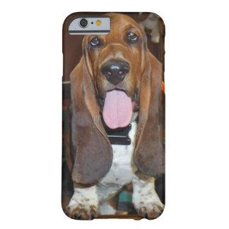 Cas de téléphone portable de chien de basset coque iPhone 6 barely there