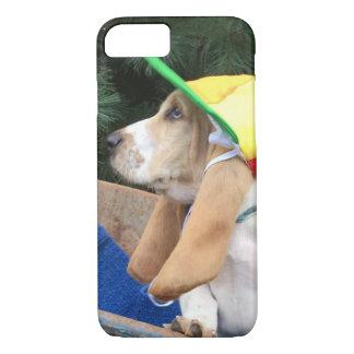 Cas de téléphone portable de chien de basset coque iPhone 7