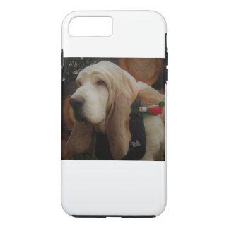 Cas de téléphone portable de chien de basset coque iPhone 7 plus