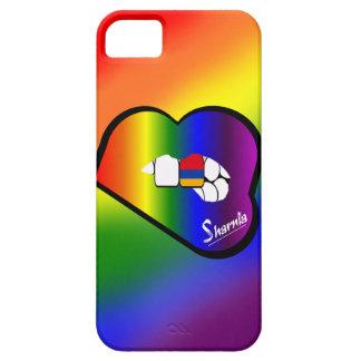 Cas de téléphone portable de l'Arménie des lèvres Étuis iPhone 5