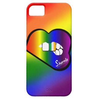 Cas de téléphone portable de l'Irlande des lèvres Coques iPhone 5