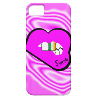 Cas de téléphone portable de l'Irlande des lèvres Coques iPhone 5 Case-Mate
