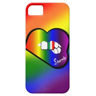 Cas de téléphone portable de l'Italie des lèvres Coque iPhone 5