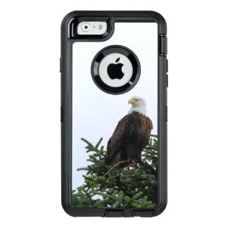 Cas de téléphone portable d'Eagle chauve Coque OtterBox iPhone 6/6s