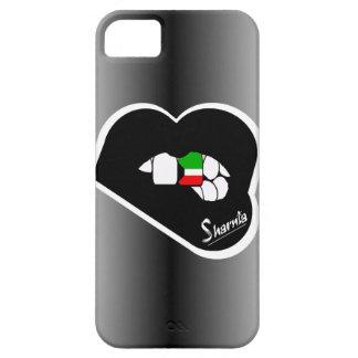 Cas de téléphone portable du Kowéit des lèvres de Coque iPhone 5