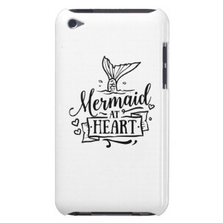 Cas de téléphone - sirène au coeur coques iPod touch