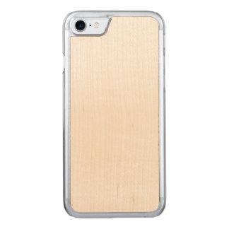 Cas découpé de l'iPhone 7 minces de cerise Coque En Bois iPhone 7