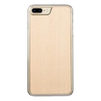 cas découpé plus de l'iPhone 7 Coque En Bois iPhone 7 Plus