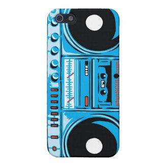 Cas d'EYEPhone 4 de caisson de basses Coque iPhone 5