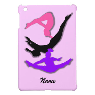 Cas d'ipad de gymnaste de trempoline mini coques iPad mini