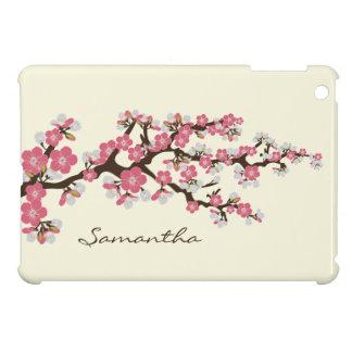 Cas d'iPad de Sakura de fleurs de cerisier mini Étuis iPad Mini