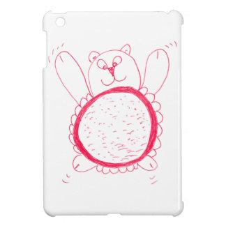 Cas d'iPad d'ours de tournesol mini Coques iPad Mini