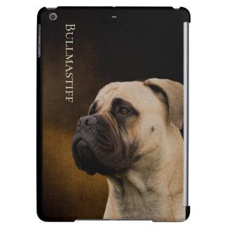 Cas d'iPad dur de coquille de Bullmastiff mini