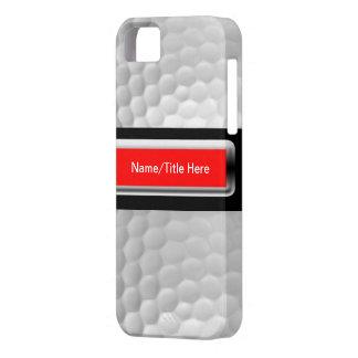 Cas d'Iphone 5 de boule de golf Coques iPhone 5