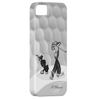 Cas d'Iphone 5 de boule de golf de golfeur du Coque Barely There iPhone 5