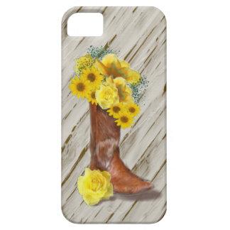 Cas d'IPhone 5 de bouquet de cow-girl Coque iPhone 5 Case-Mate
