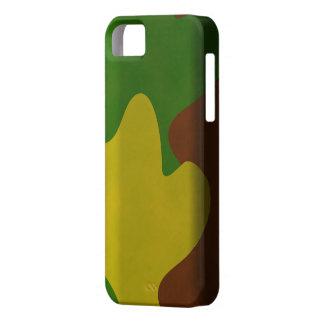 Cas d'Iphone 5 de camouflage