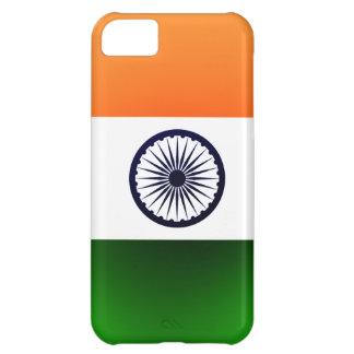 Cas d'Iphone 5 de drapeau de l'Inde