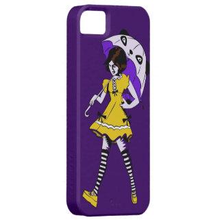 Cas d'Iphone 5 de fille de parapluie (style de Lol Étuis iPhone 5