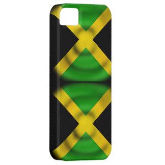 Cas d'Iphone 5S de drapeau de la Jamaïque