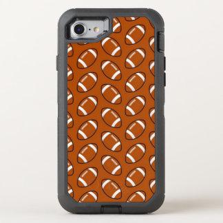 Cas d'Otterbox de l'iPhone 7 de motif du football Coque OtterBox Defender iPhone 8/7