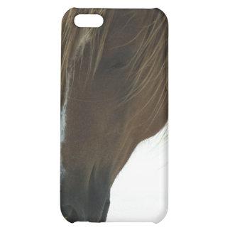 Cas doux de l'iPhone 4 de cheval de mustang Étui iPhone 5C